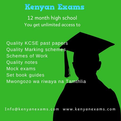 12months - Kenyan Exams