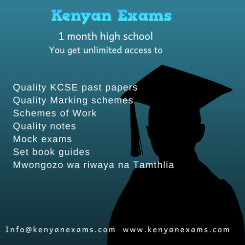 Kcse Revision Notes Pdf