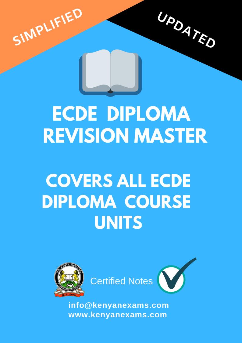 ECDE - Kenyan Exams